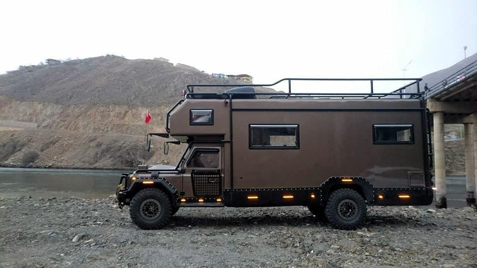 Автокемпер на базе Land Rover
