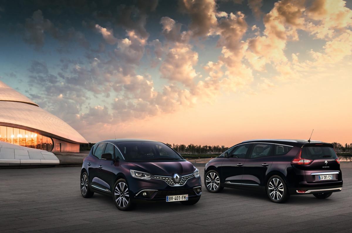 Мини-вэны Renault Scenic и Grand Scenic обзавелись роскошными версиями