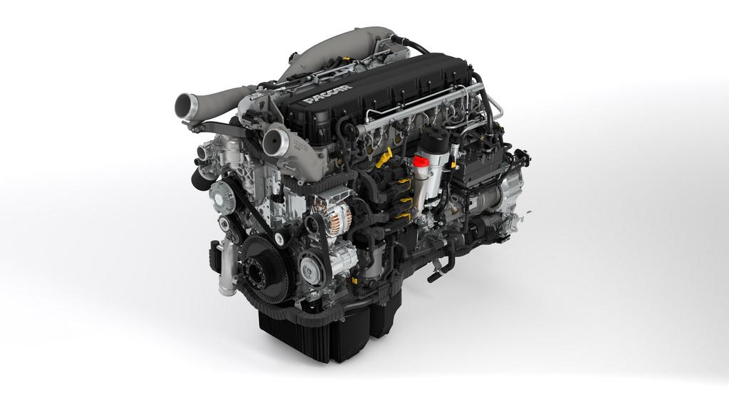 Турбодизель Paccar MX-13 в топовой версии теперб развивает 530 л.с. и 2600 Нм