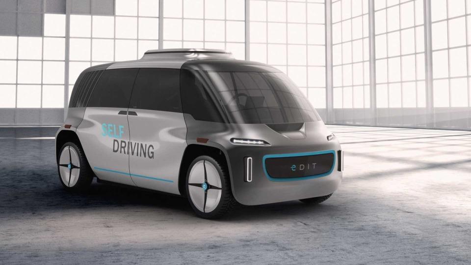 В США представлен беспилотный автомобиль-конструктор