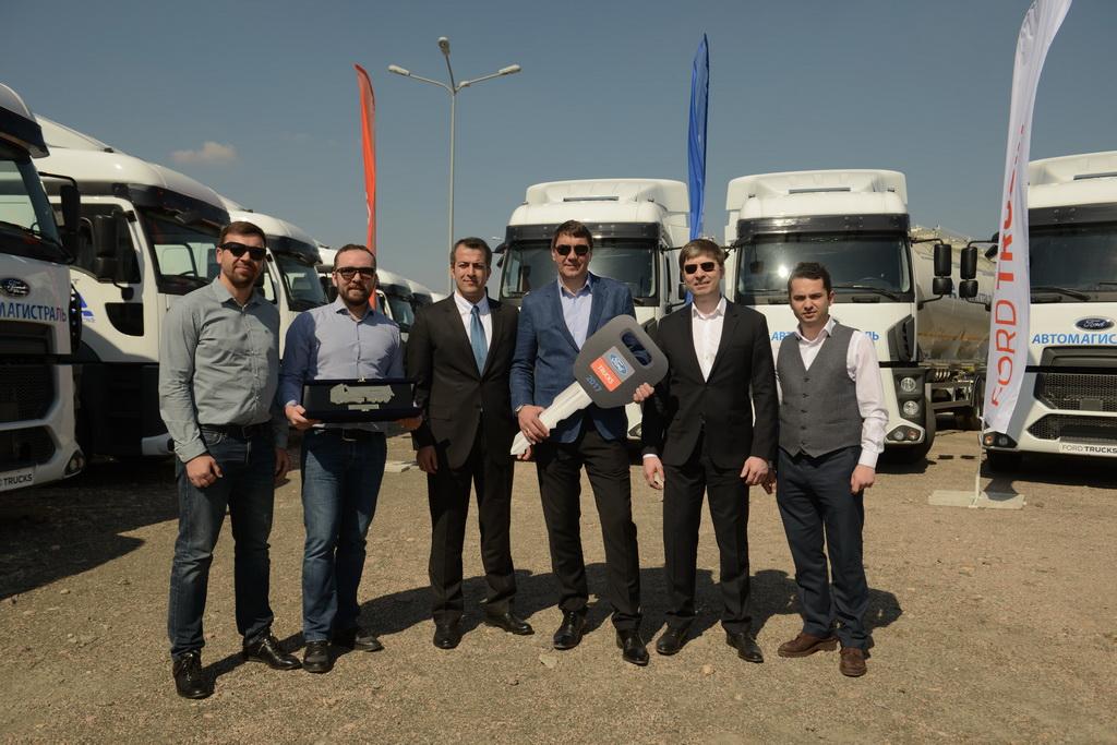 АВТЕК передала 60 автомобилей Ford Trucks компании «Автомагистраль»