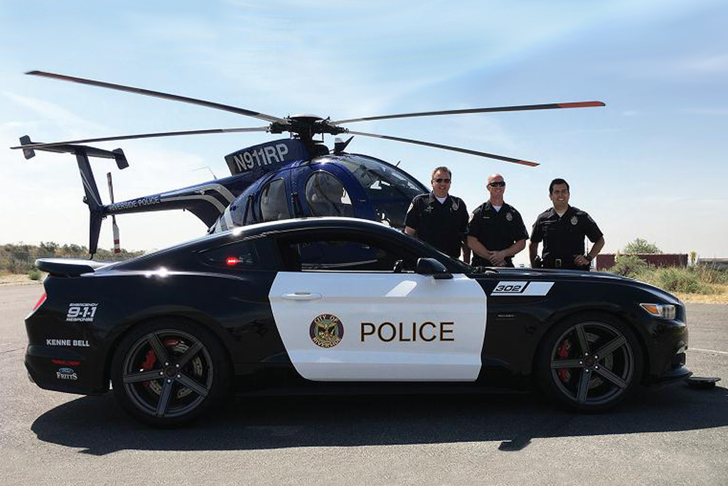 370-сильный маслкар Форд  Mustang превратили вполицейский автомобиль