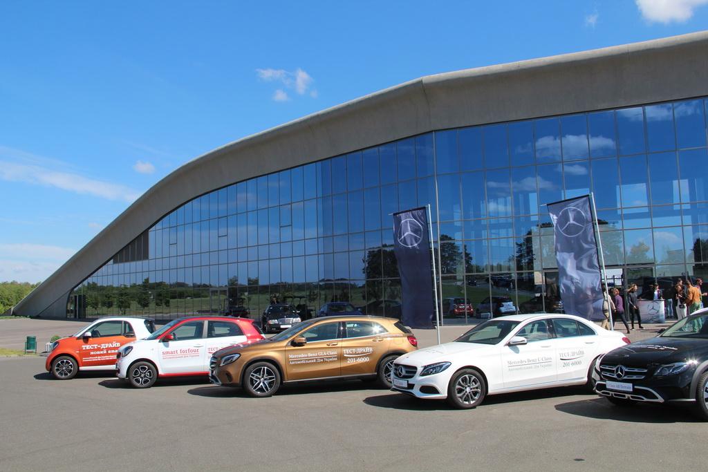 ВКиеве прошла презентация 2-х новых авто Мерседес Бенс