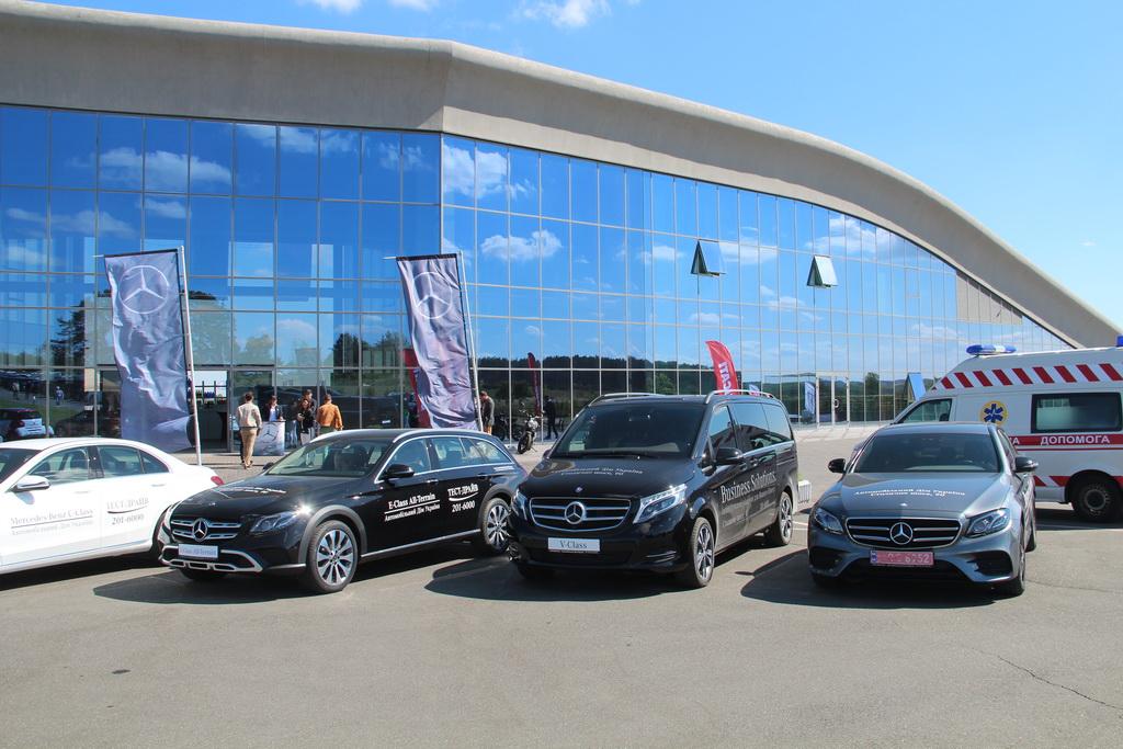 Benz презентовал две обновленные модели вУкраинском государстве