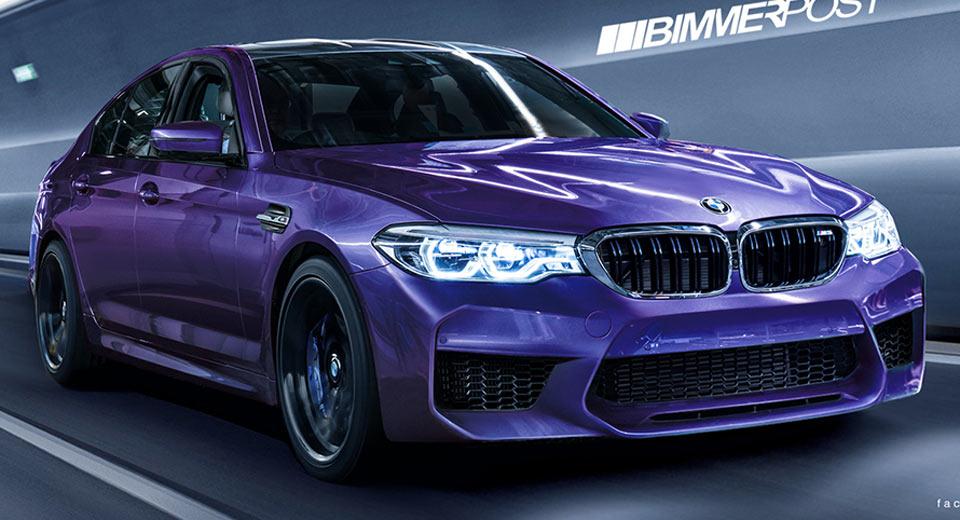 BMW M5 2018 станет самым мощным авто в истории марки