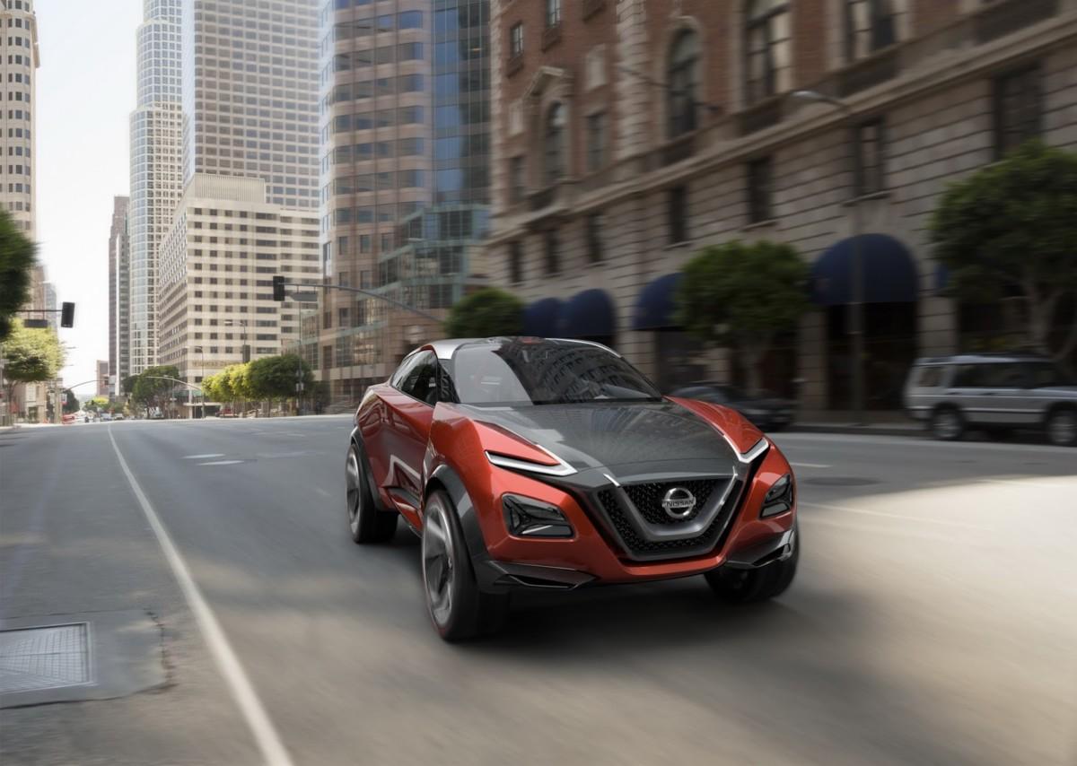 Nissan выпустит электрокроссовер на базе Leaf