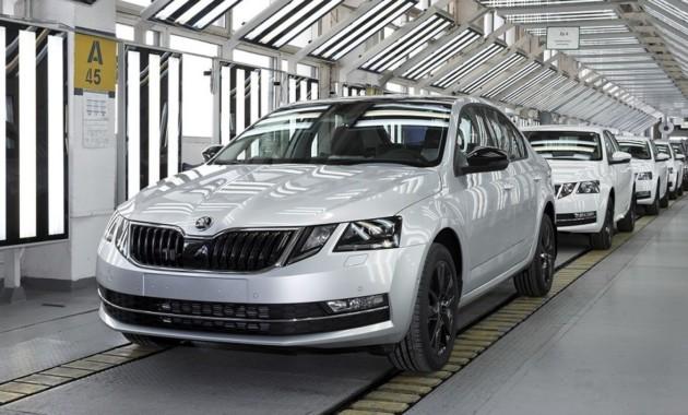В Чехии выпущена 1,5-миллионная Skoda Octavia третьего поколения