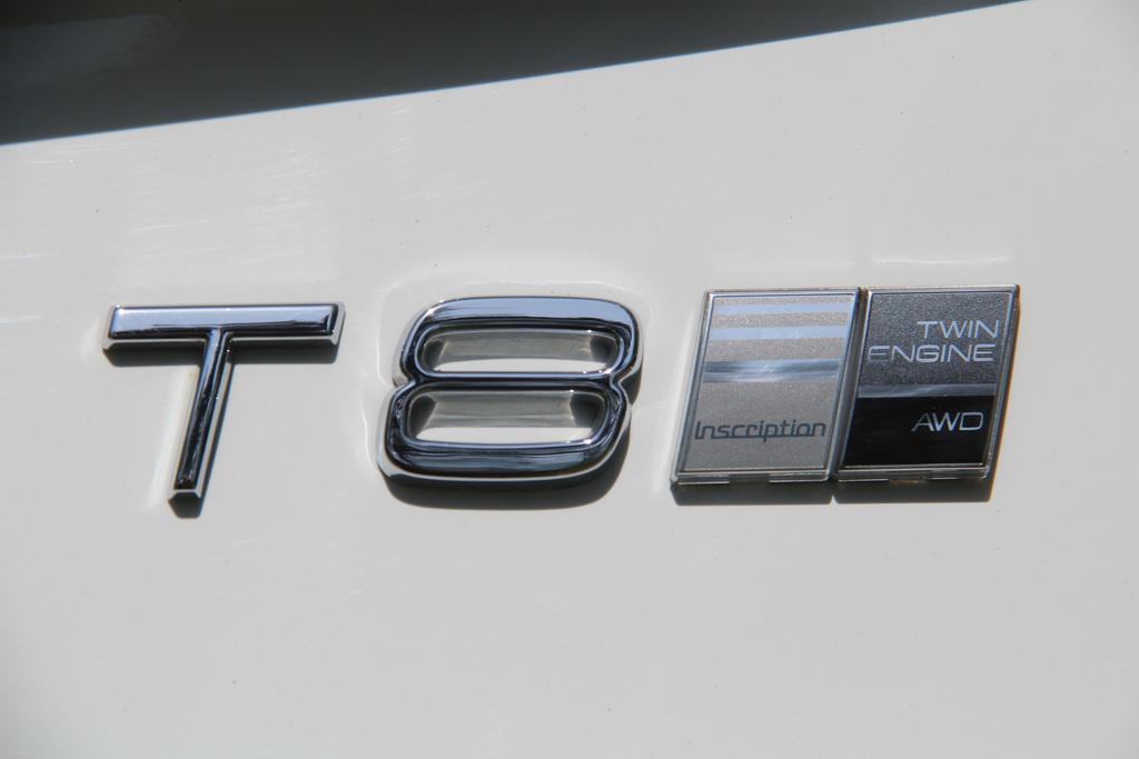 Логотип Volvo XC90 T8