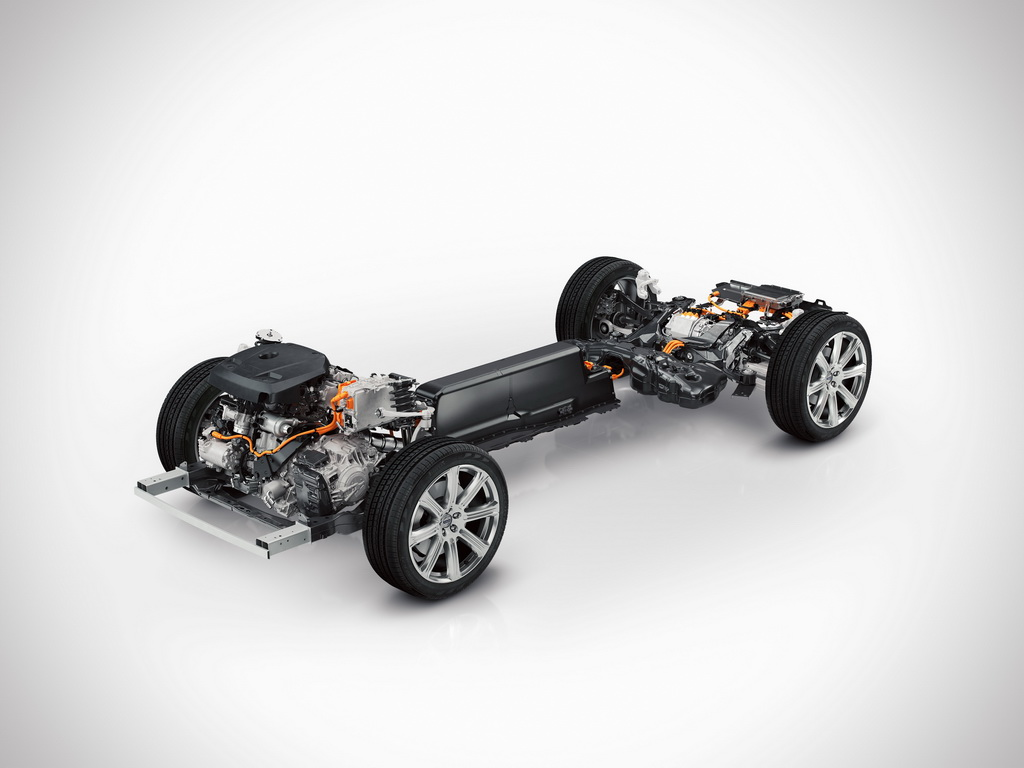 Силовая установка Volvo XC90 T8