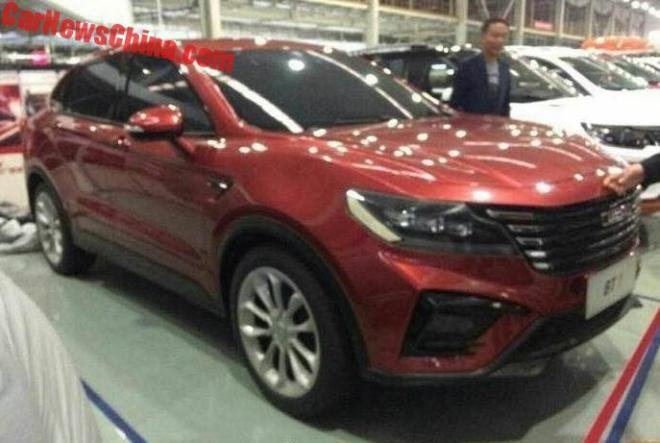 Вweb-сети интернет рассекретили новое кросс-купе Bisu BT7