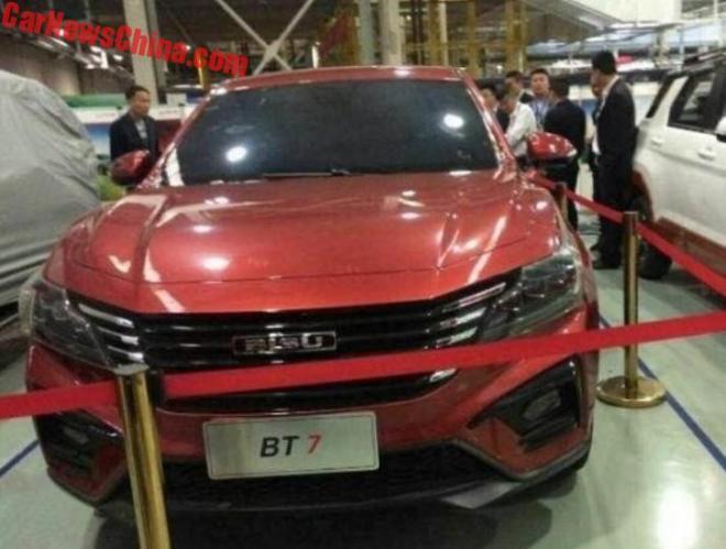 Вweb-сети рассекретили новое кросс-купе Bisu BT7