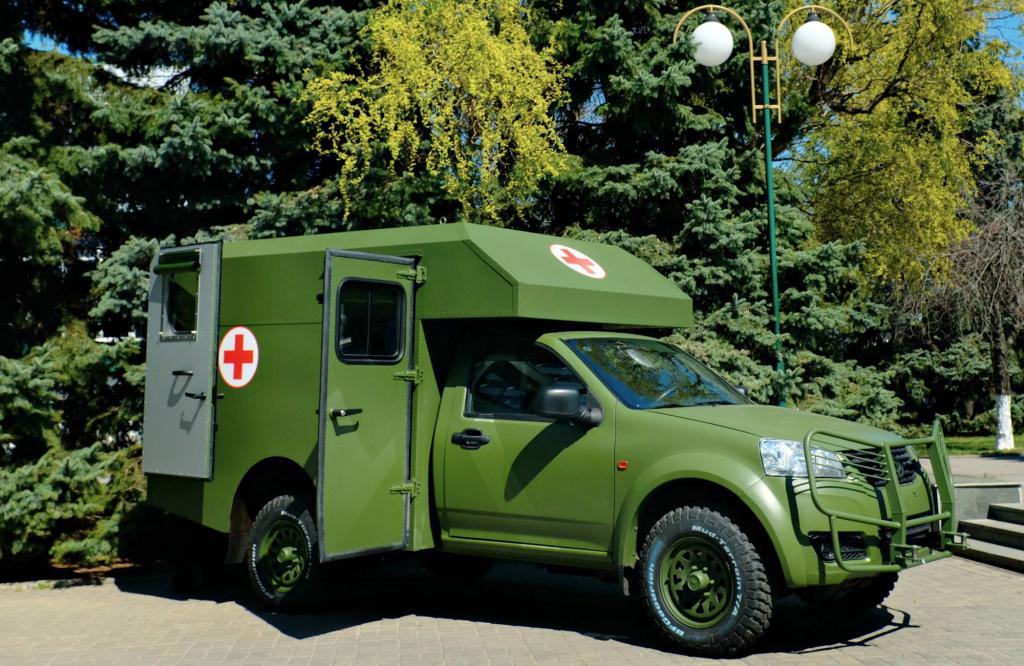 Cанитарный автомобиль «Богдан-2251»