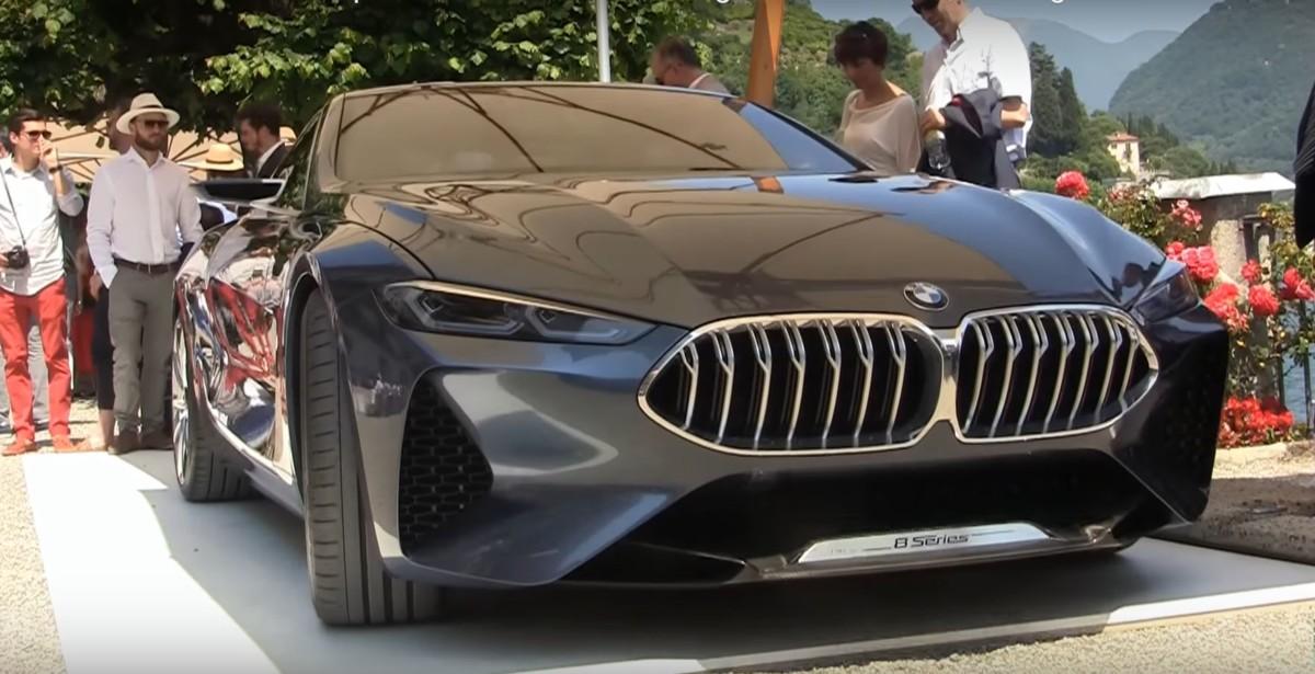 BMW 8 2017: живые фото и видео новой восьмерки БМВ