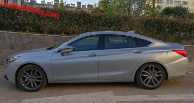 Китайцы собрали представительский седан набазе Mazda6