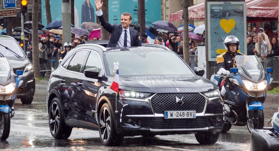 Кроссовер DS 7 Crossback превратили в автомобиль президента