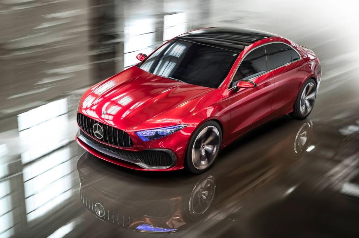 Mercedes готовит 8 новых переднеприводных моделей