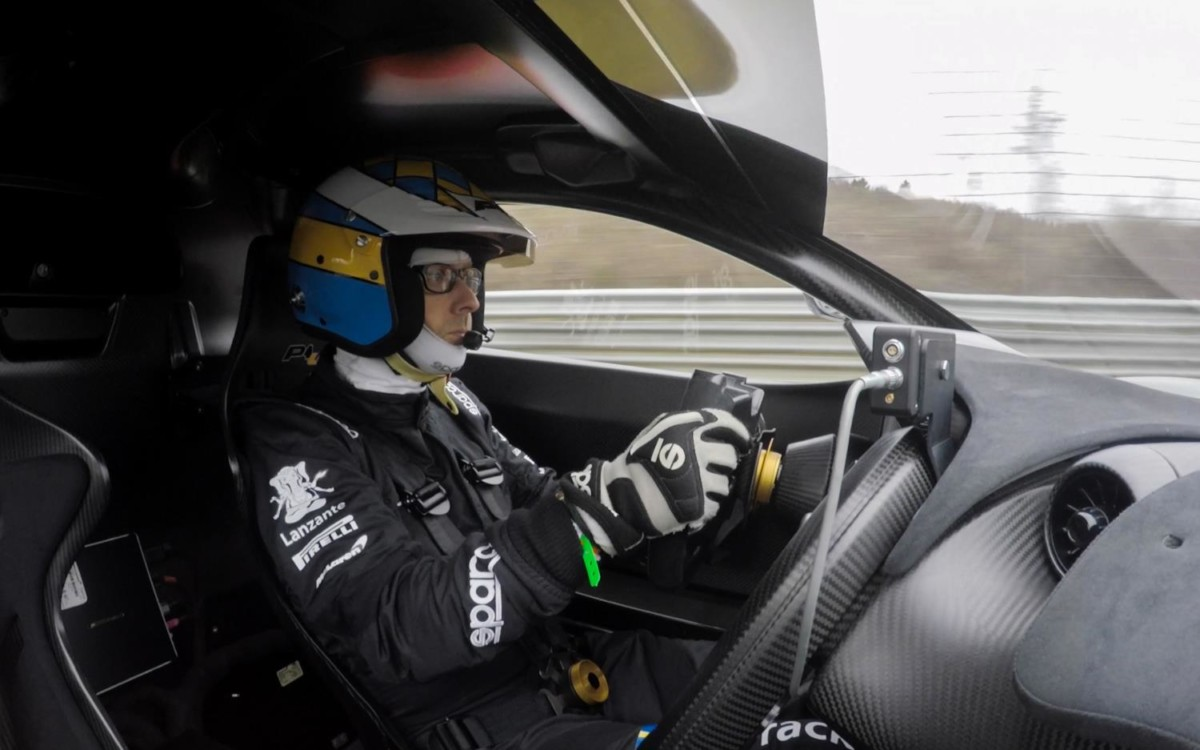 Трековый гиперкар McLaren P1 LM побил рекорд Нюрбургринга