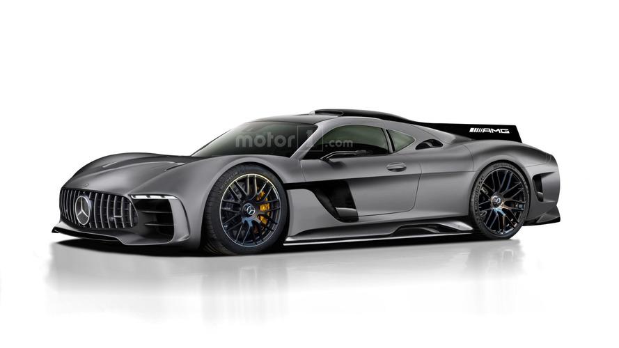 AMG продемонстрировал гоночное купе GT3 Edition 50