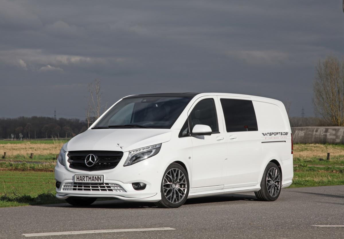 Mercedes-Benz Vito превратили в роскошный микроавтобус премиум-класса