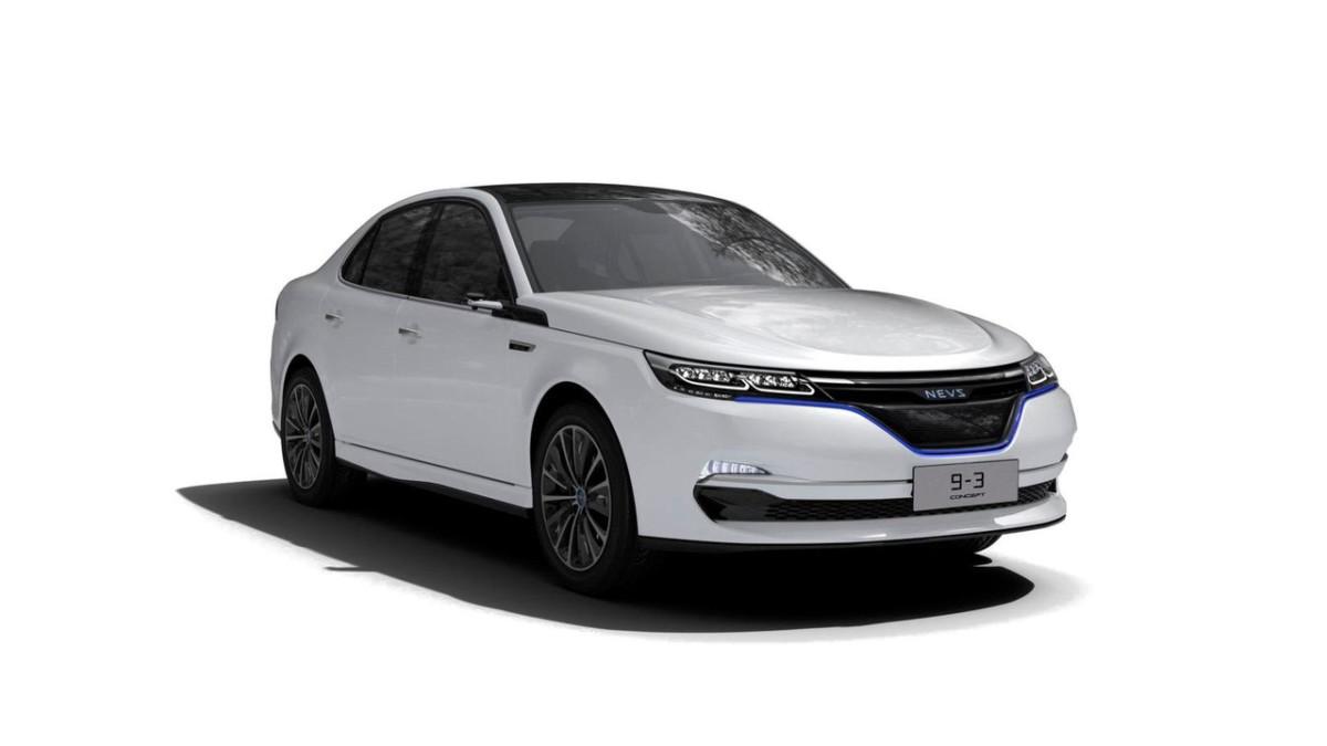 В Китае представлен электрический клон Saab 9-3