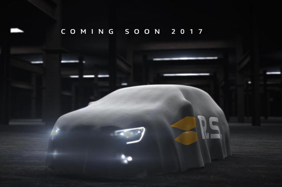 Renault Megane RS 2018: первые фото нового хот-хэтча Рено