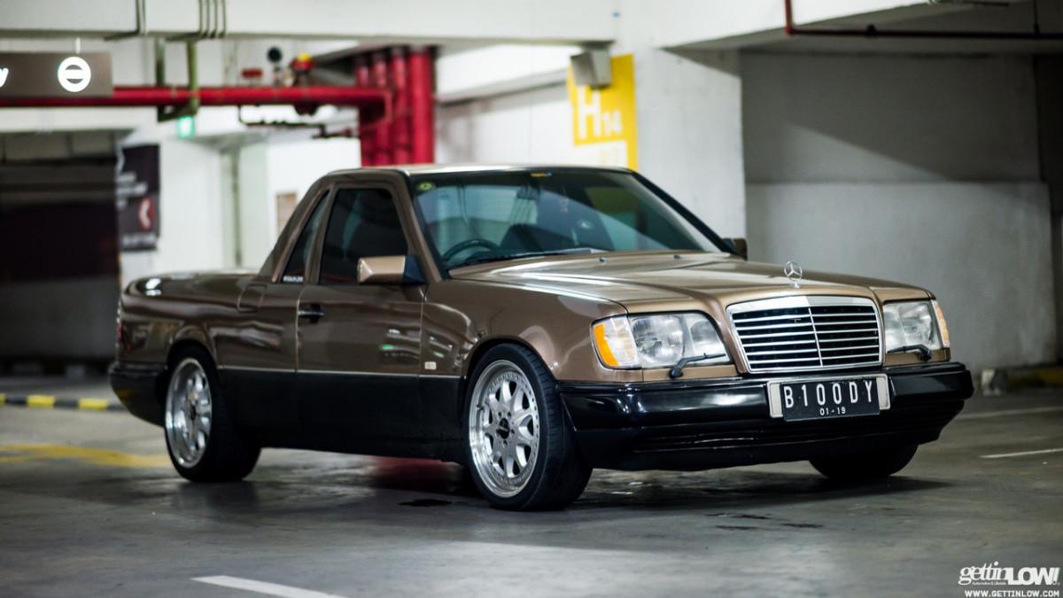 Mercedes-Benz E-Class в необычном кузове W124