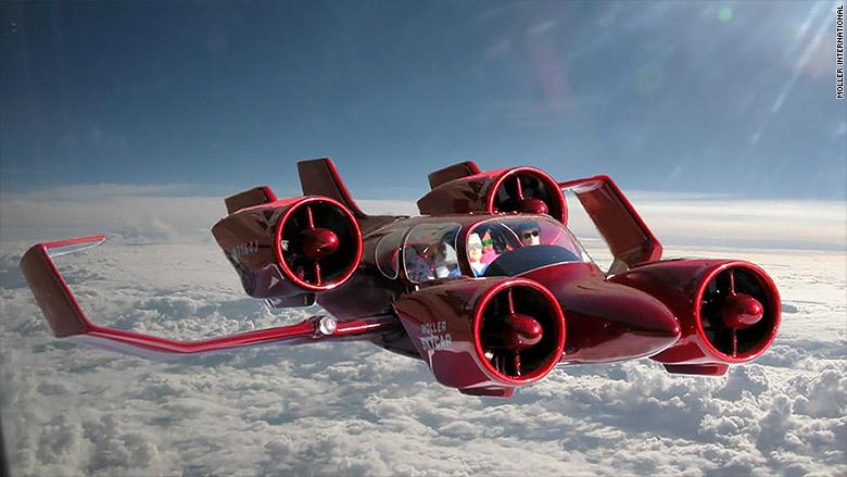 АвтоВАЗ намерен выпустить летающий автомобиль и беспилотник