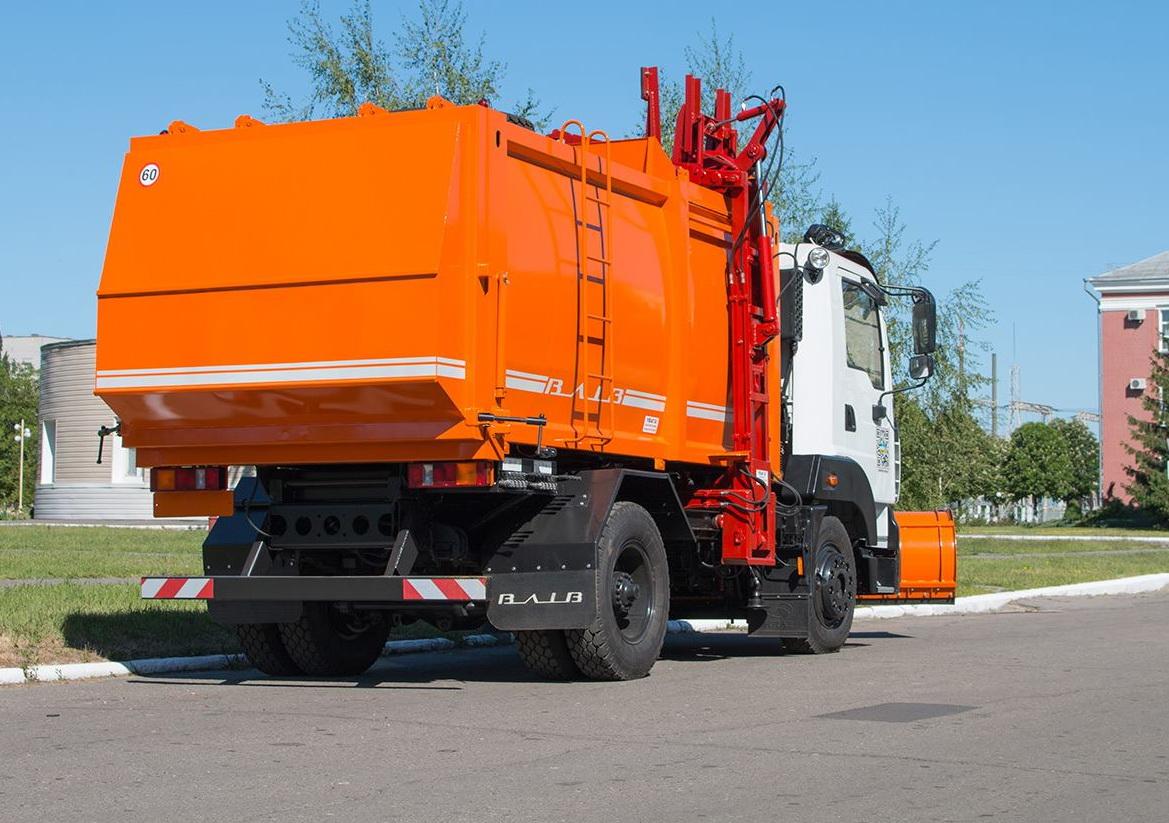 Мусоровоз на шасси КрАЗ-5401Н2