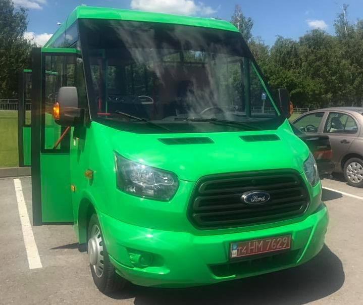 Новая украинская маршрутка «Рута» - на шасси Ford Transit