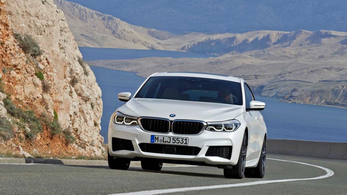BMW 6 Series Gran Turismo: первые фото роскошного хетчбэка БМВ 6