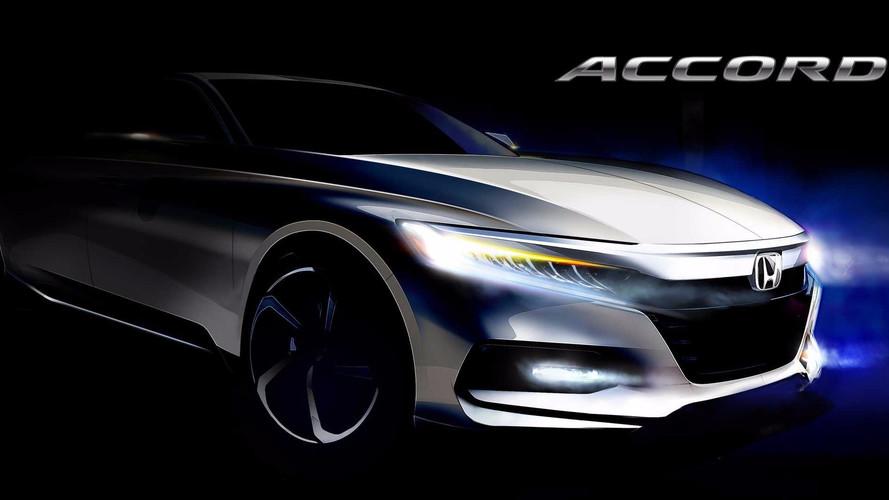 Honda Accord 2018: первые официальные изображения нового седана Хонда