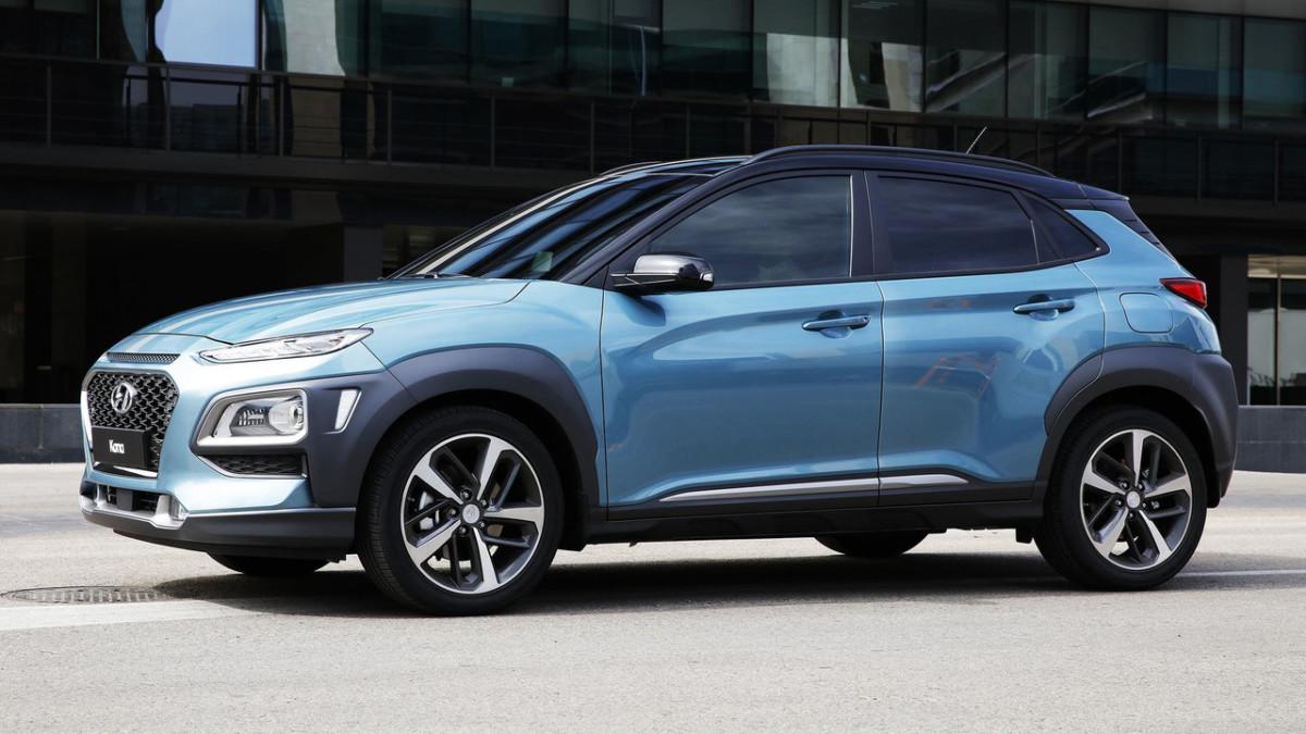 Компактный кроссовер Hyundai Kona 2018 официально презентован