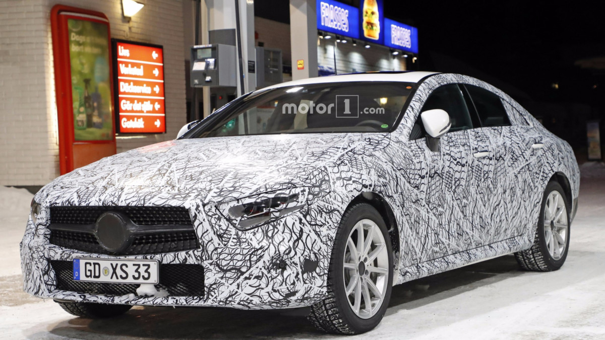 Каким будет новый Mercedes-Benz CLS