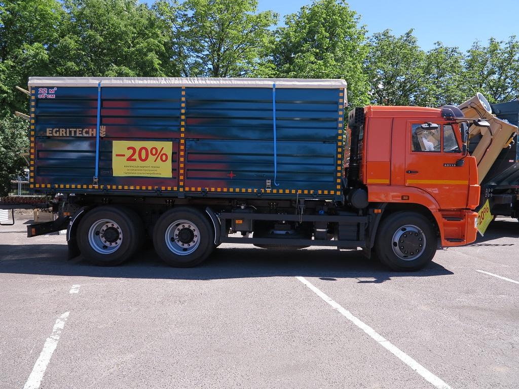 «неизвестные» грузовики на Агро-2017