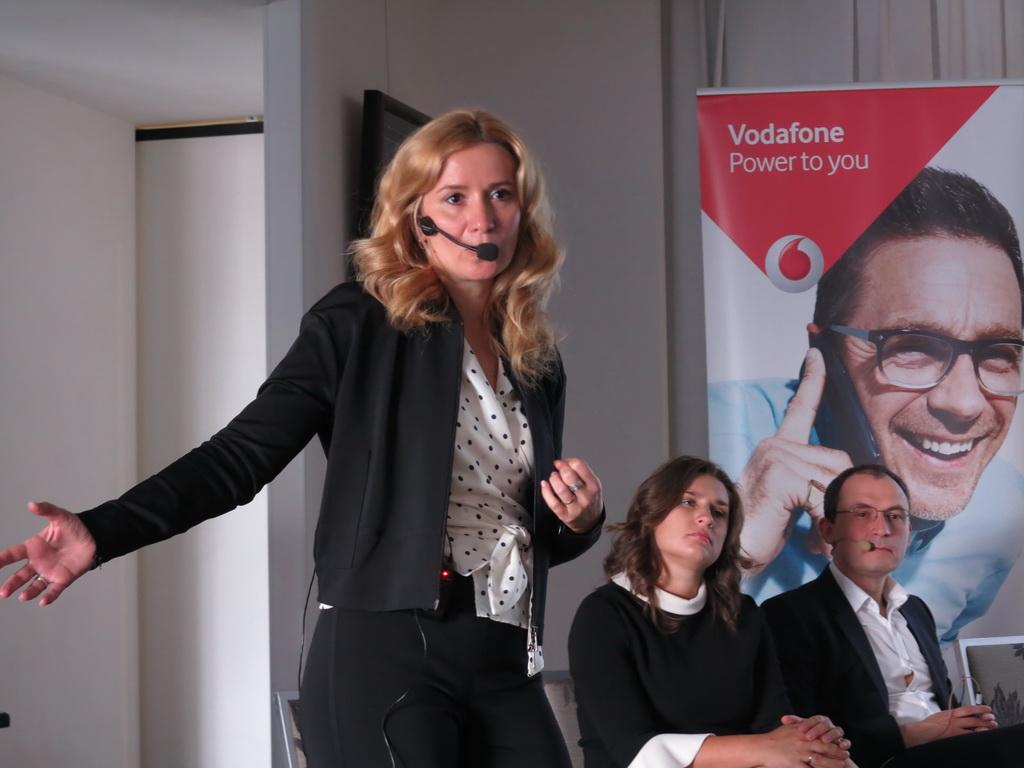 Ольга Устинова Генеральный директор Vodafone Украина