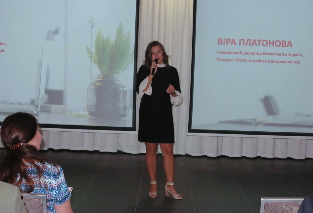 Вера Платонова Генеральный директор Masercard в Украине, Модове, Грузии и странах Центральной Азии