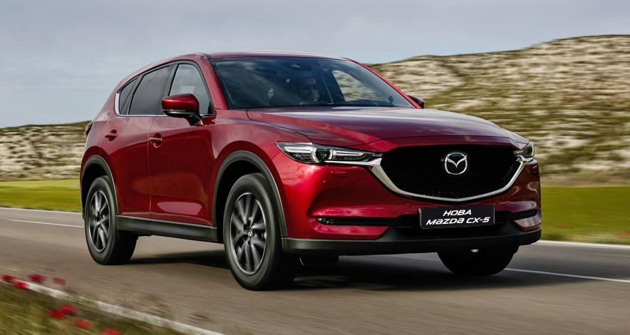 Новая Mazda CX-5