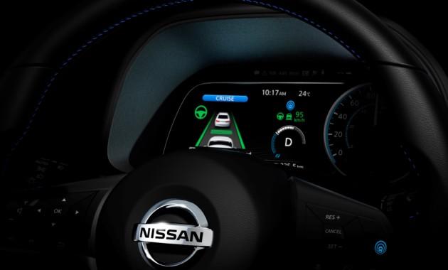 Стало известно, когда представят новый Nissan Leaf 2018