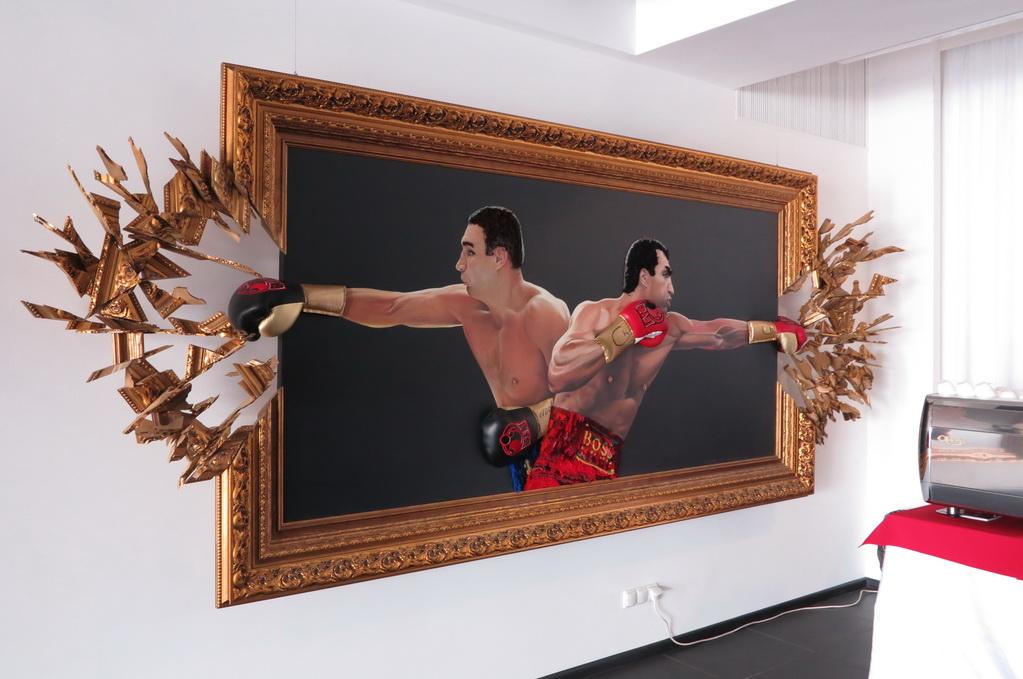 в пресс-центре Klitschko Expo
