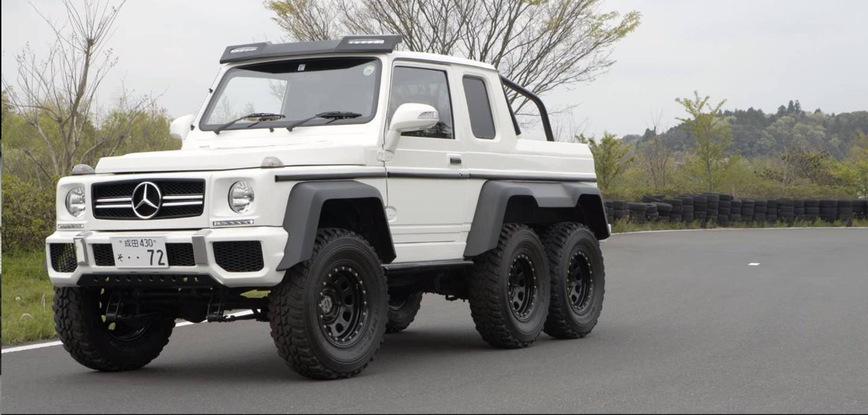шестиколесный Гелендваген из Suzuki Jimny