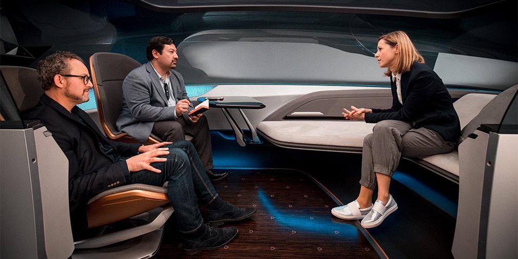Audi показала интерьер своего будущего беспилотника