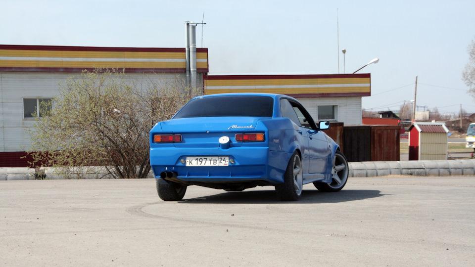 Тюнинг наоборот: из BMW сделали купе Москвич