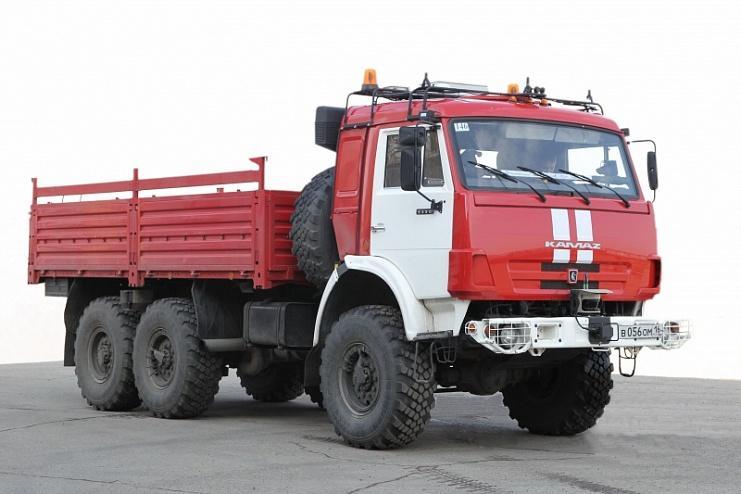 Первый ходовой образец беспилотника создали на базе вездехода КамАЗ-5350 (6х6)