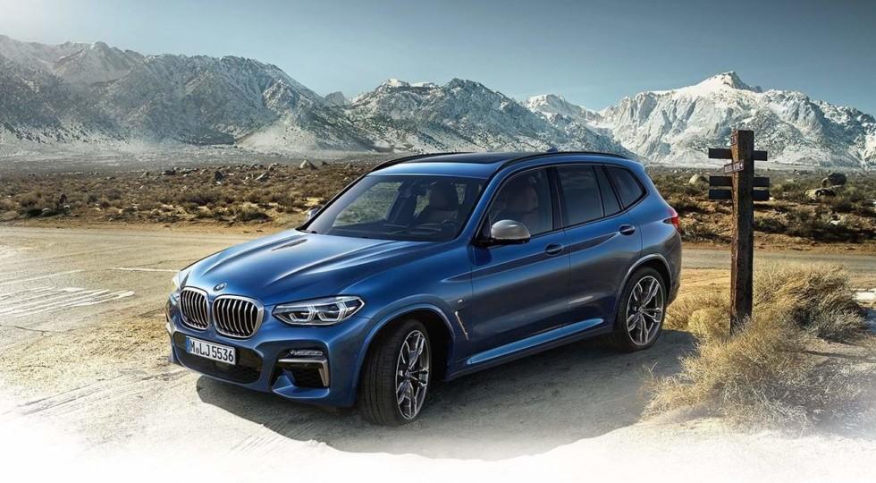 BMW X3 2018: первые официальные фото и видео