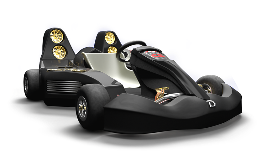 Самый быстрый карт в мире едет на реактивной тяге и стоит как Corvette