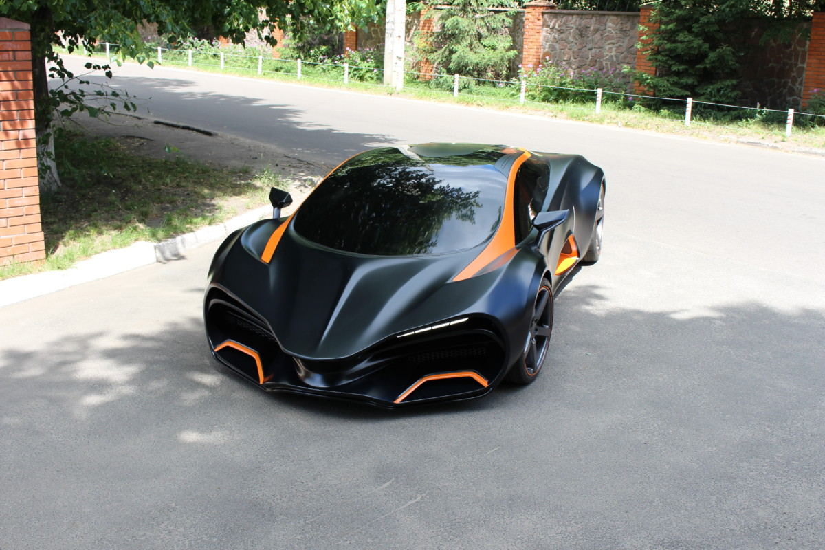 Украинцы построили электрический суперкар за700 тыс. евро