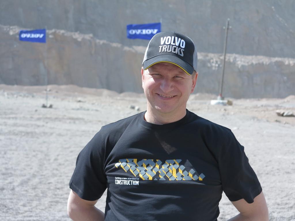 Александр Санин Генеральный директор ООО «Вольво Украина»