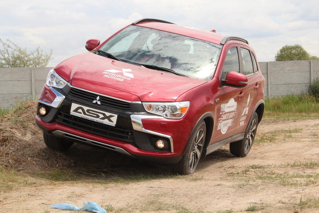 Mitsubishi Test-drive