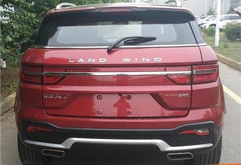 Китайский клон Range Rover стал меньше похож на оригинал