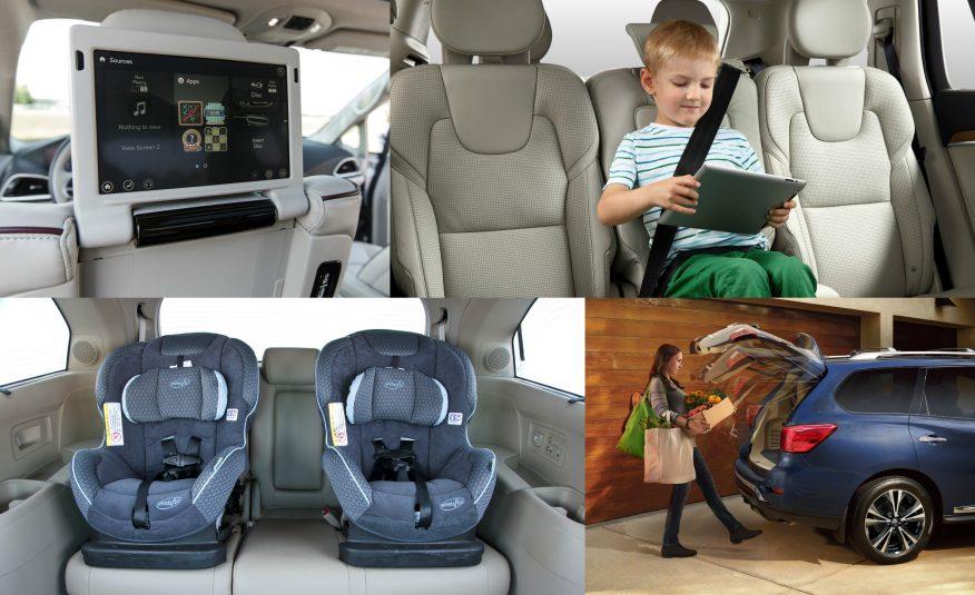 лучшие автомобили для семьи